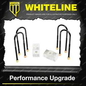 "Whiteline Rear 2"" Lowering Block - Kit for Holden Colorado RC Rodeo RA"
