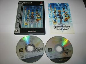 Kingdom Hearts II Final Mix Ultimate Hits Japanese PS2 Japan import US Seller
