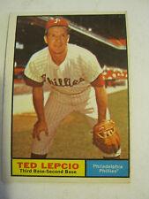 1961 Topps #234 Ted Lepcio Baseball Card, Good Cond (GS2-b9)