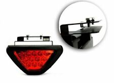 12V Car Pickup F1 Style Triangle 12LED Rear Stop Tail Third Brake Light Lamp RED