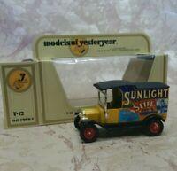 Lesney Matchbox Models of Yesteryear  Y12-3 1912 Ford Model T  Sunlight Seife
