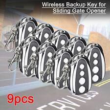 Wireless Backup Keypad Exlusively For Sliding Gate Opener Kit Set of 9