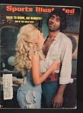"""BROADWAY"" JOE NAMATH COVER SPORTS ILLUSTRATED MAGAZINE AUGUST 17, 1970"