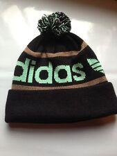 Adidas Originals Mercer Ballie Pom Beanie Winter Hat Cap Black Brown Mint  NWT