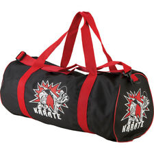 Childrens Round Karate Sports Bag Martial Arts Carry Gym Kit Kids Holdall