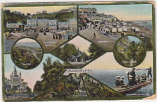 Shanklin,Isle of Wight,U.K.7 Views,Used,1929