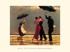 Jack Vettriano singender Butler The singing Butler Poster Kunstdruck Bild