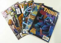 MARVEL Comics THE THING (2006) UNGRADED FANTASTIC FOUR LOT Ships FREE
