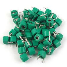 30pF Plastic Green Case Adjustable Trimmer Capacitors 50 Pcs B3