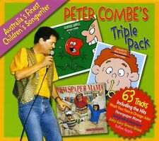 Peter Combe Peter Combes Triple Pack (Aus) 3 CD NEW sealed