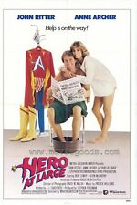 HERO AT LARGE Movie POSTER 27x40 John Ritter Anne Archer Bert Convy Kevin