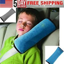 Child Kids Car Safety Seat Belt Pillow Shoulder Strap Head Supports Pad Cushions