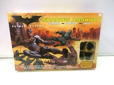 Shadow Assault Board Game Batman Begins by Matel 2005 -Complete VGC Never opened