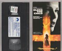 BLESS THE CHILD Horror VHS video Movie Gore Cult Slasher Sex KIM BASINGER
