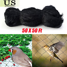 50'X50' Bird Netting Chicken Protective Net Screen Poultry Garden Aviary Game EK