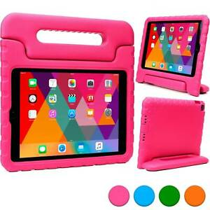 """For iPad 5th 6th Generation 9.7"""" 2017 2018 Safe Kids EVA Foam Handle Case Cover"""
