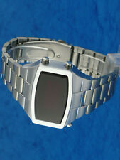 Rare old style modern futuristic 70s seventies space age mens led l.e.d watch 7