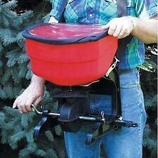 BROADCAST SPREADER - Fertilizer - Seed - Strap On - 30 Lbs Capacity - Heavy Duty