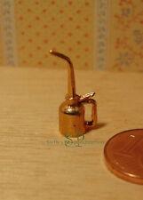 7102 - Messing Öl-Kännchen, Miniatur für Puppenhaus, Puppenstube, Dollhouse 1:12