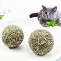 Essbar Gesundheit Katzenminze Katzen Minze Ball Beschichtet Catnip Haustier Pjqq