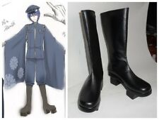 Vocaloid Kaito Senbon Sakura Cosplay Costume Boots Boot Shoes Shoe