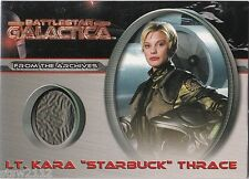BATTLESTAR GALACTICA PREMIERE CC4 LT KARA THRACE STARBUCK KATEE SACKHOFF COSTUME