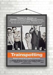 TRAINSPOTTING MOVIE POSTER Amazing Cast Shot NEW 24x36