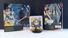 Star Wars Galaxy of Adventures Rey & Kylo Ren, Han Solo & Solo Mystery Mini Lot