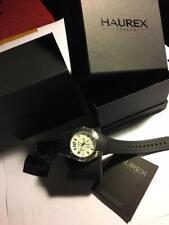 Haurex Italy  Chronograph Silver Dial Men's Watch 3A384