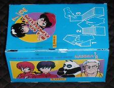 1 BOX 100 BUSTINE FIGURINE STICKER PACK VIGNETTES MANGA/ANIME VINTAGE 1996-RANMA
