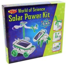 World Of Science 6 In 1 Solar Power Kit 6 Models to make in 1 Kit Educational To