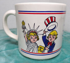 CAMPBELL'S SOUPS ~ SALUTE AMERICA ~ COFFEE MUG ~ MADE IN BRAZIL