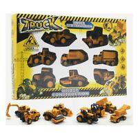1/64 Pack Construction Vehicule Travaux Ensemble De Jouet Pour Enfant metal toy