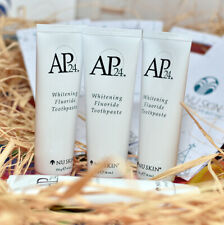 Nu Skin AP-24 Whitening Fluoride Toothpaste Authentic 4oz  X 3 Tubes