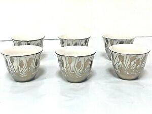 Arabic/Turkish Porcelain  Coffee cup Set  (12 Cups) 2.5 Oz  KAWA
