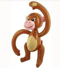 Inflatable Monkey 58cm Pinata Jungle Loot/Party Chimp Ape Wedding/Kids UK SLR
