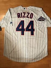 Anthony Rizzo #44 Chicago Cubs World Series Cool Base Jersey Men's Size XL