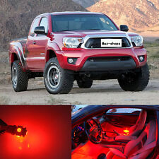 5Pcs New Red Interior LED Lights Package Kit For Toyota Tacoma 2005 - 2017