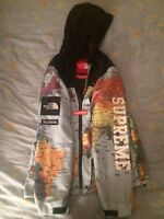 Supreme x the north face expedition map jacket xl ebay supreme x the north face expedition jacket map size xl gumiabroncs Gallery