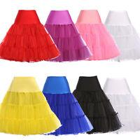 """23""""- 48"""" Retro Underskirt/50s Swing Vintage Petticoat/Tutu/ Net Skirt"""