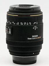 SIGMA 70 / 2,8 EX DG MACRO X CANON