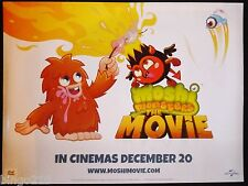 MOSHI MONSTERS THE MOVIE CINEMA QUAD POSTER  FURI DIAVLO SWEET TOOTH
