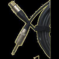 1 Câble XLR 3 Broches Femelle  vers Jack 6,35 Mono Mâle Long 10 Métres