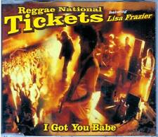 "REGGAE NATIONAL TICKETS ""I got yoy babe"" CD SINGOLO UDP"