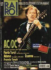 RARO! 127 AC/DC PAOLA TURCI ADAMO OSANNA PANORAMICS WHITE ALBUM TITO SCHIPA