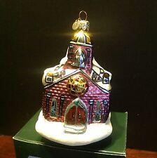 Department 56 Holy Name Church Blown Glass Ornament Made In Poland NIB 17712