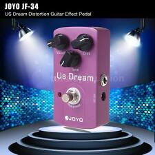 JOYO JF-34 US Dream Distortion Electric Guitar Effect Pedal True Bypass Gift USA