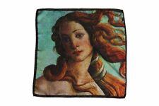 The Wardrobe: Pocket Square Botticelli 'Birth of Venus', pure silk