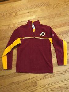 NFL Authentic Starter WASHINGTON REDSKINS Fleece Jacket Boys Size Sz L 14 16 #c1