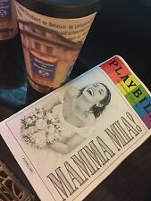 MAMMA MIA! PLAYBILL NEW YORK CITY BROADWAY JUNE 2015 LIMITED ISSUE & Theater Cup